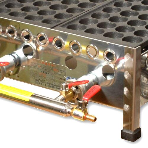 [국산 고급형] 타코야끼 기계 LPG 28구 X 3판(알미늄판)